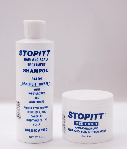 Stopitt Medicated Shampoo 8oz + Anti-dandruff