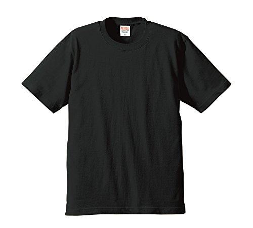 (ユナイテッドアスレ)UnitedAthle 6.2oz プレミアムTシャツ 594201 2 ブラック M