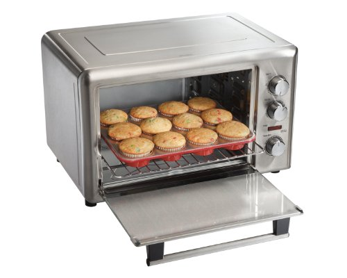 Hamilton Beach Countertop Convection Oven 31197 : Hamilton Beach 31103A Countertop Oven with Convection and Rotisserie ...