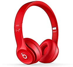 Beats MHNJ2ZMA over-ear Headphones (Red)