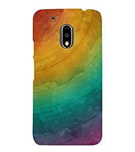 GADGET LOOKS PRINTED BACK COVER FOR MOTO G4 PLUS MULTICOLOR