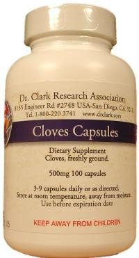 Cloves 500 mg. 100 Capsules
