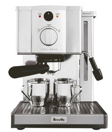 Cheapest Prices! Brevile ESP8XL Cafe Roma Stainless Espresso Maker
