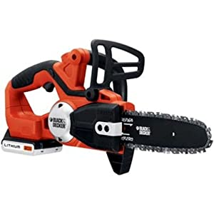 Black and Decker LCS120 20-Volt Lithium Ion Cordless Chain Saw,Includes 20v Battery by Black & Decker