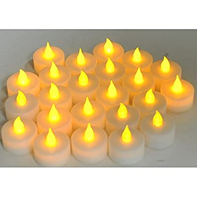 Instapark LCL Series LED Flameless Tea Light Candles, 2-Dozen Pack