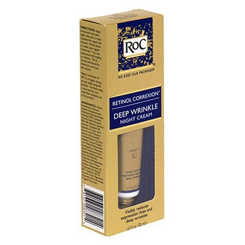 RoC Skin Care Reviews – Retinol Correxion Deep Wrinkle Night Cream