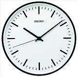SEIKO CLOCK セイコークロック STANDARD」アナログ電波クロック φ310mm  ブラック KX308K