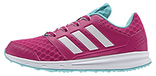 adidas LK Sport 2.0, Scarpe Running Bambina, Viola (Eqt Pink/Ftwr White/Vivid Mint), 38 2/3 EU