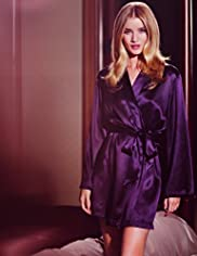 Rosie for Autograph Pure Silk Wrap Dressing Gown