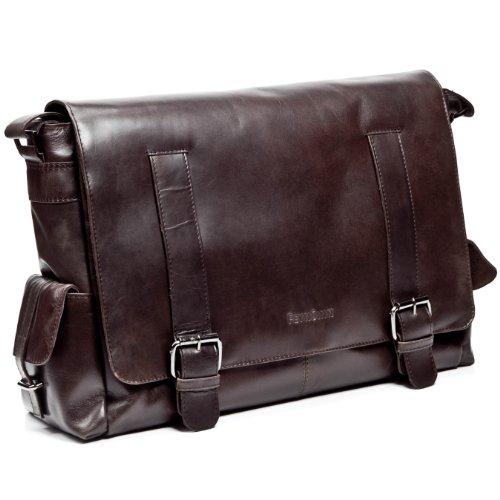 Bien connu grand sac bandoulière ASHTON - sacoche pour ordinateur portable en  QI13