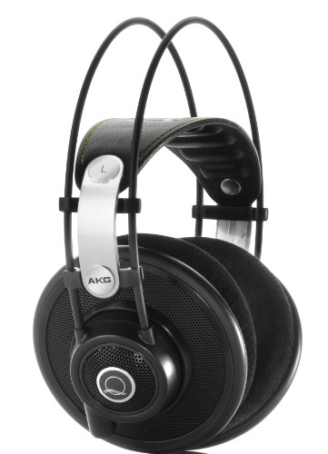 Learn More About AKG Q 701 Quincy Jones Signature Reference-Class Premium Headphones - Black