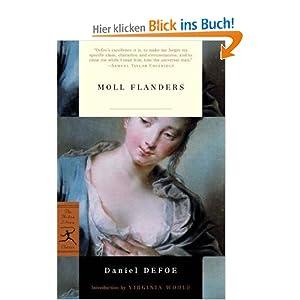 Moll Flanders (Modern Library Classics) Daniel Defoe and Virginia Woolf