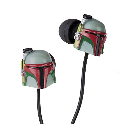 Star Wars BOBA FETT Earbuds (Extra Earbuds Included) - 1