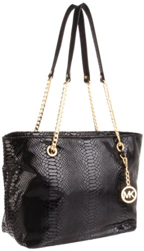 MICHAEL Michael Kors Jet Set Chain EW Tote BLACK