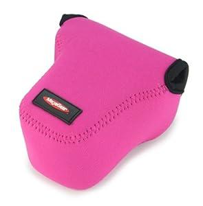 MegaGear ''Ultra Light'' Neoprene Camera Case Bag for Sony NEX-6, Sony NEX-7, Sony NEX-F3 with 18-55mm Lens (Hot Pink)