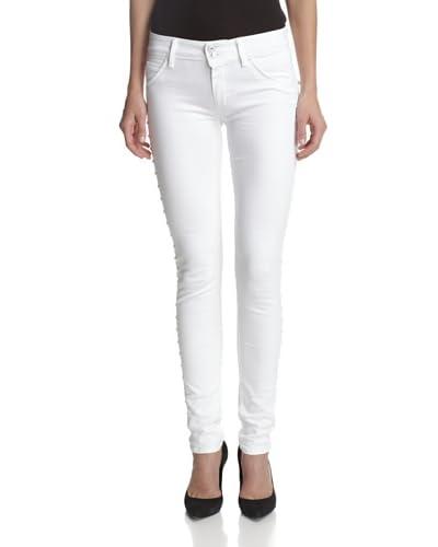 Hudson Women's Collin Midrise Studded Skinny Jean
