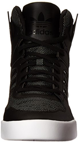 Adidas Originals Women's Zestra W Fashion Sneaker, Black/Black/Halo Pink S16, 8 M US
