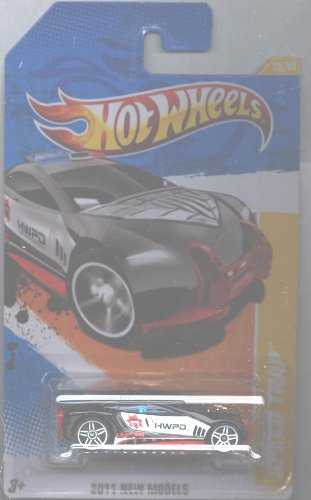 Hot Wheels 2011-015 New Models Speed Trap BLACK 1:64 Scale