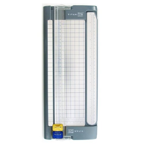 Westcott Paper Trimmer With Titanium Bonded Cut And Score Blades, 12