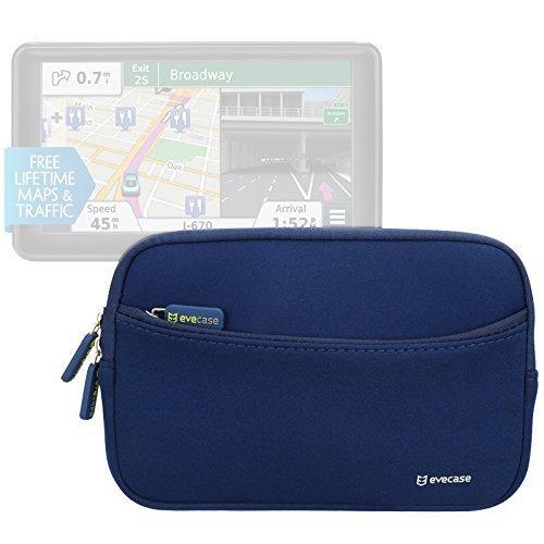Evecase Universal Portable Neoprene Sleeve Case Bag for Garmin nüvi 2797