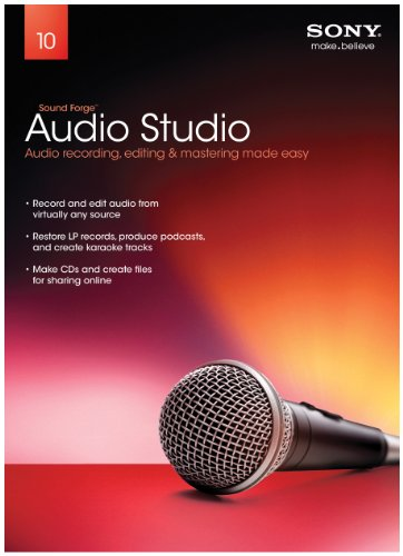 Sony Creative Software Sound Forge Audio Studio 10 - 2011 [Old Version]