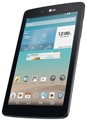 LG G Pad V410 16GB 7-Inch WiFi + 4G LTE Unlocked GSM Tablet - Dark Gray (Certified Refurbished) (Lg G Pad 4g Lte Tablet compare prices)