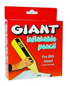 Giant Inflatable Pencil Photography Studio Prop Funny Office Gift Jumbo Novelty - 1