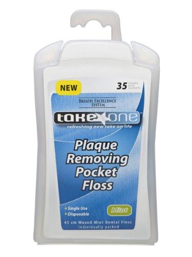 Take One Plaque-Removing Pocket Floss - 30 sachets