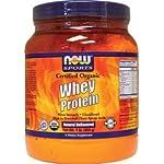 Now Foods Organic Whey Protein, 1 Pound
