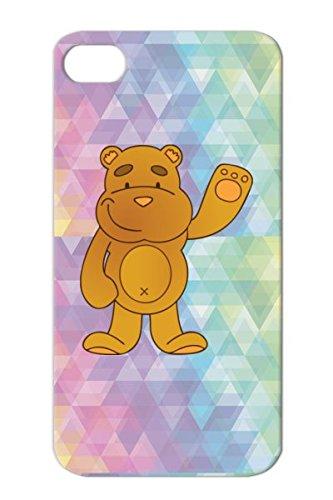 Tpu Cartoon Teddy Bears Bear Baby Blanket Figure Funny Child Animal Plush Orange Teddy Bear Cover Case For Iphone 4/4S front-315146
