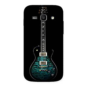 Stylish Greenish Print Guitar Back Case Cover for Galaxy Ace 3