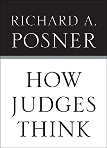 """Cover of """"How Judges Think"""""""