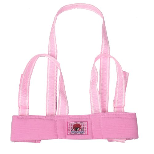 Rosallini Toddler Baby Safety Harness Adjustable Pink Belt Walking Walker Assistant