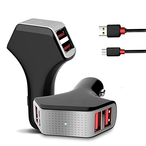 car-charger-jelly-comb-50w-10a-4-port-usb-car-charger-5-ft-usb-micro-cable-smart-identification-tech