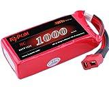 Kypom K6 11.1V 1000mAh 30C60C リポ バッテリー