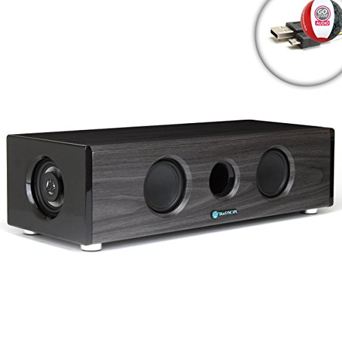 Gogroove Xpl Bluesync Modern Home Cinema Speakers For Projectors Benq W1070 , Digital Galaxy Dg-737 , Viewsonic Hdmi , Favi Led Projector Integration Featuring V2.1 Bluetooth Music Streaming And Surround Sound Audio Boost