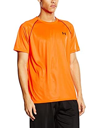 Under Armour Camiseta Manga Corta Tech Printed (Naranja)