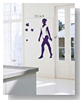 Large--Easy instant decoration wall sticker wall mural Sport boy girl adault room decal SPS169 gym gymnastic