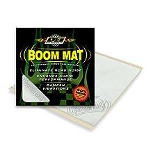 """DEI 050200 Boom Mat 12"""" x 11.5"""" Sound Deadening Sheet, Pack of 2"""