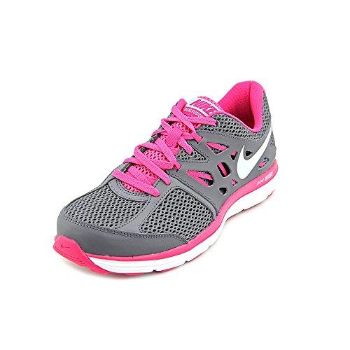 buy online fecc6 04209 Nike Women s Dual Fusion Lite Drk Grey Glcr Ic Vvd Pnk White
