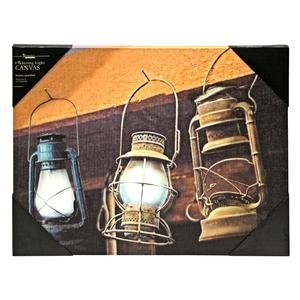 Ohio Wholesale Radiance Lighted Hanging Lanterns Canvas Wall Art, From Our Everyday Collection