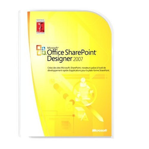 Microsoft Office SharePoint Designer 2007  French (vf) Version Upgrade