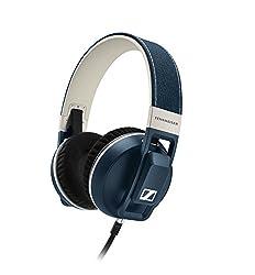 Sennheiser Urbanite XL Over-Ear Headphones (Blue and White)