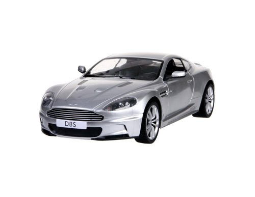 RASTAR 42500 1:14 4 Channel Remote Control Aston Martin DBS Coupe RC Car with Light (Silver) + Worldwide free shiping