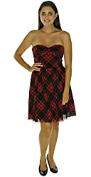 Betsey Johnson Women's Strapless Dress