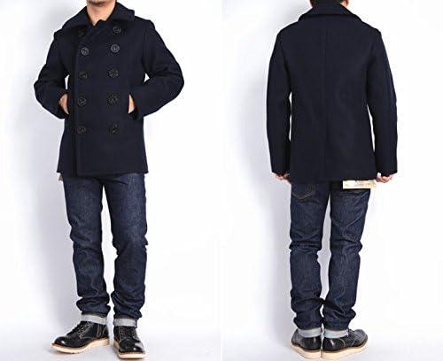 """(バズリクソンズ) BUZZ RICKSON'S ピーコート Pコート Type PEA COAT """"NAVAL CLOTHING FACTORY"""" BR11554"""