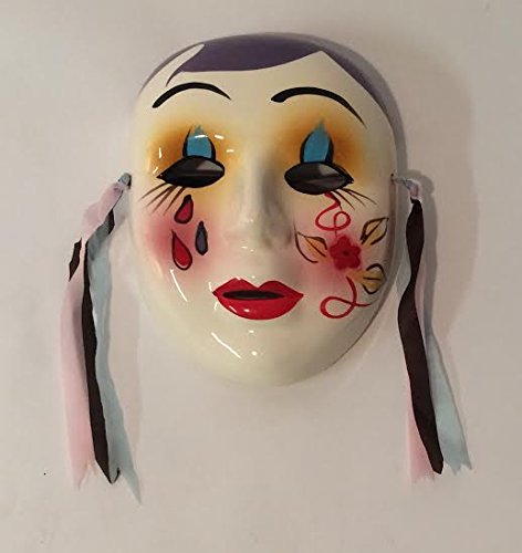 Small Unique Decorative Porcelain Masks