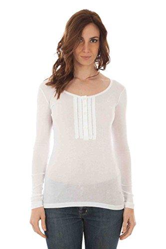 Maglia serafino Donna Fred Perry 31042063 9100 - Colore - Bianco, Taglia - M