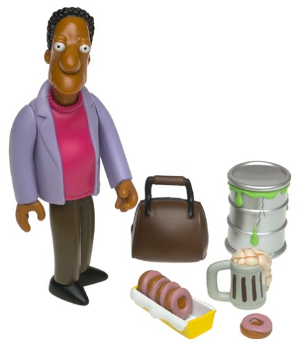 The Simpsons World of Springfield Carl Figure