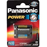 Panasonic Photo Lithium Battery 2CR5L x 1by Panasonic Industrial
